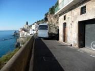 Estrada na Costa Amalfitana