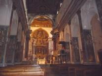Interior do Duomo de Amalfi, na Costa Amalfitana