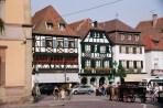 França, Alsácia, Obernai, verão