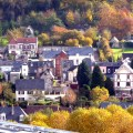 França, Normandia, Honfleur, final de outubro