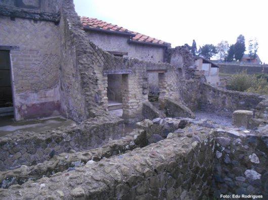 Herculano, Itália, sítio arqueológico