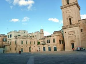 Lecce, construções no centro histórico
