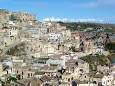 Os sassi de Matera, Itália