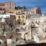 Matera, bairro de sassi no vale