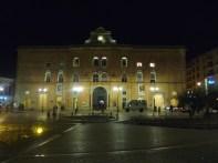 Matera, centro novo à noite
