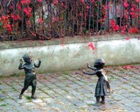 Melfi, esculturas na rua