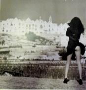 Lufada de vento traiçoeira em Alberobello...