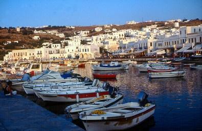 Grécia, Mikonos, porto