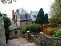 Mont- S-Michel, na França: chouveu, mas deu para visitar