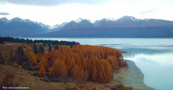 Outono na Nova Zelândia