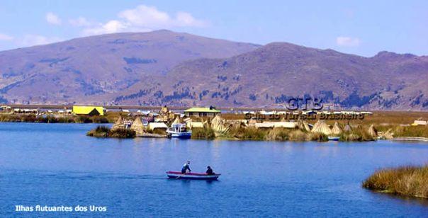 Peru, Lago Titicaca, ilhas dos índios uros
