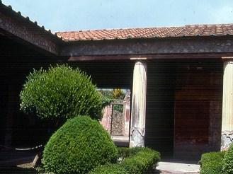 Pompeia, Itália, casa restaurada