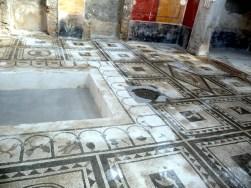 Pompéia, interior de casa romana