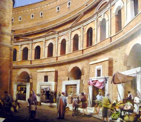 Reconstituição, Roma na época dos Césares