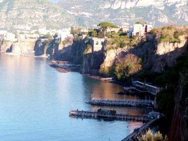 Sorrento, uma cidade sobre um promontório