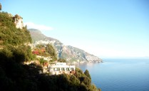 Estrada entre Sorrento e Amalfi