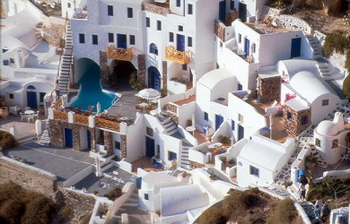 Grécia, ilha de Santorini