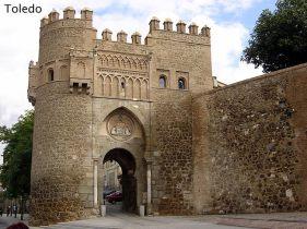 Espanha, muralhas de Toledo