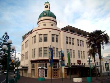 Arquitetura Art-Decô, em Napier, Nova Zelândia