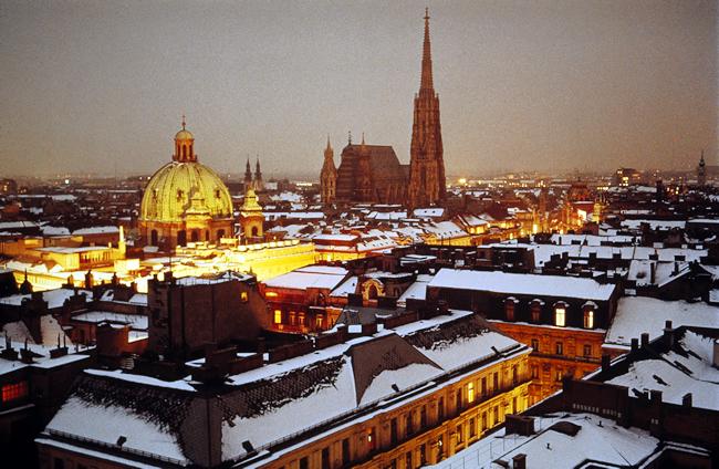 Áustria, cidade de Viena, a capital