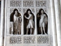 Detalhe, catedral de Reims