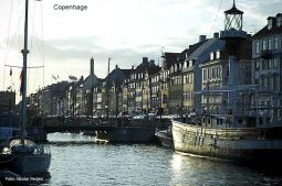 Dinamarca, canal em Kopenhage