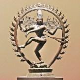 Estátua de Shiva Natarâdja, Senhor da Dança, Mmusée Guimet, Foto Jean-Pierre Dalbéra CCBY