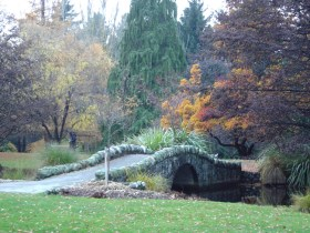 Finlândia, jardim em Hensinki