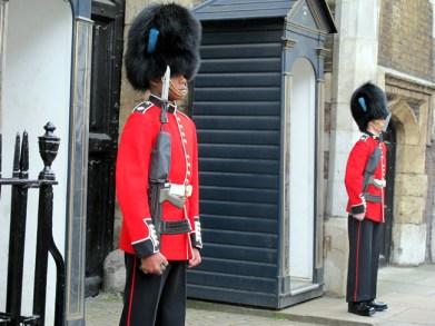 Inglaterra, Londres, guarda real, foto Melina Castro