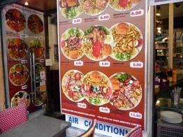 Lanchonette de fast food em Paris
