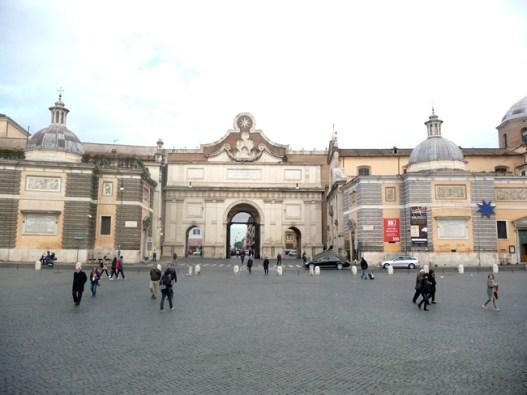Piazza del Popolo, Roma