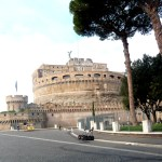 Castel Sant'Angelo, Roma, antiga residência dos papas