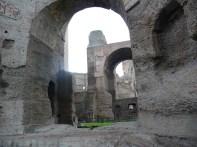 Ruínas, Termas de Caracala, Roma
