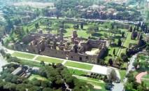 Termas de Caracala vista do alto, Roma