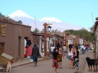 "San Pedro de Atacama, a ""Broadway"""