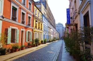 Rue Cremieux, a rua mais coloridada de Paris