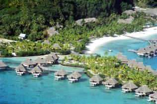 Palafitas em Bora Bora
