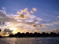 Por-do-sol em Bora-Bora, Tahiti
