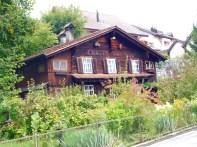 Casa típica da Suíça Alemã