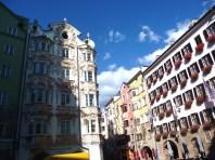 Innsbruck, rua no centro histórico