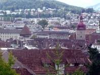 Lucerna vista do castelo