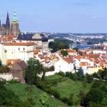 Praga vista do castelo