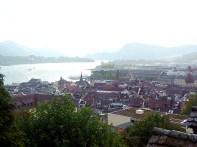 Vista de Lucerna a partir das muralhas