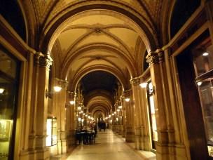 Ferstel passagem, interior, Viena