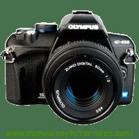 Olympus E-450 Manual de usuario en PDF Español