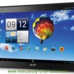 Manual usuario PDF Acer Iconia A510