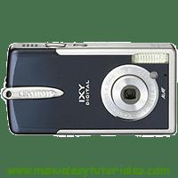 Canon Digital IXUS i5 Manual de usuario en PDF español