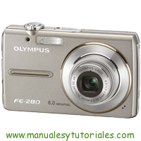 Olympus FE-280 Manual de usuario en PDF Español