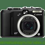 Canon PowerShot G7 | Guía y manual de usuario en PDF español