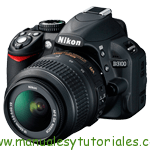 Nikon D3100 Manual de usuario PDF español
